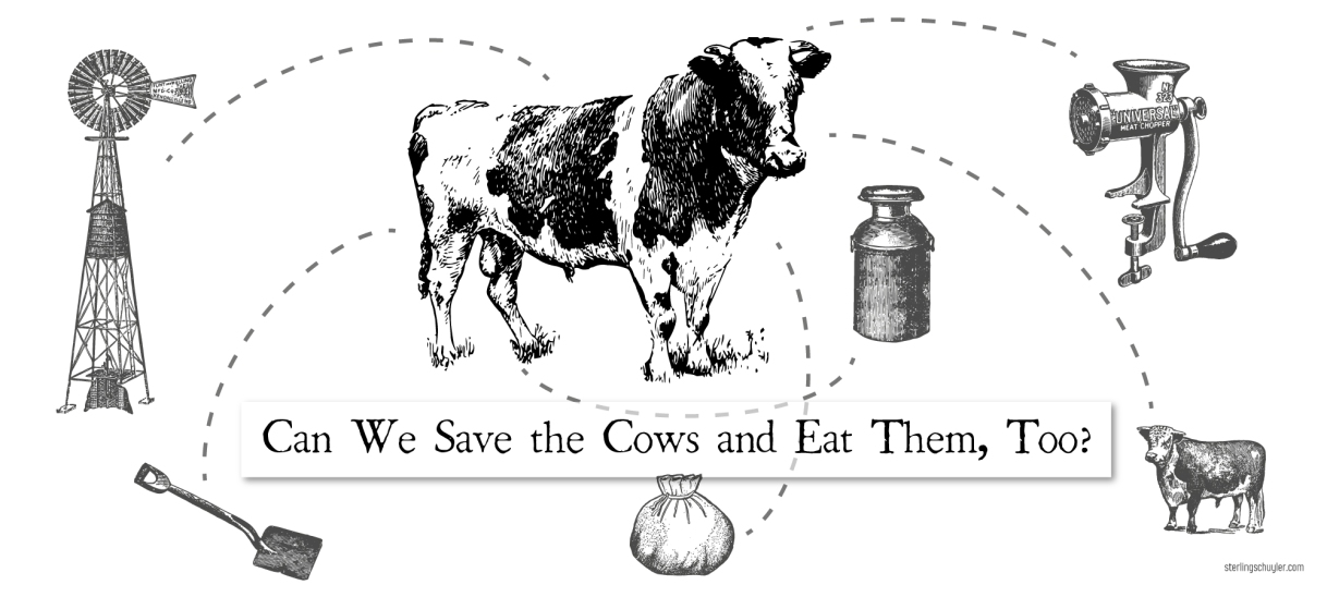 Can We Save the Cows and Eat Them,Too?